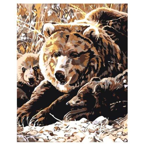 Купить Картина по номерам, 100 x 125, A68, Живопись по номерам , набор для раскрашивания, раскраска, Картины по номерам и контурам
