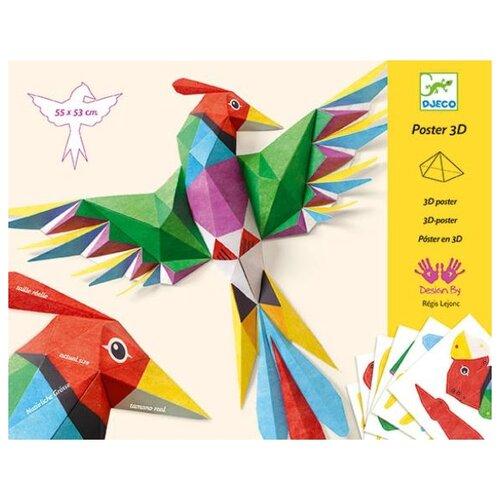Фото - Набор для творчества DJECO Птицы (09448) набор для творчества djeco романтичные цветы 07951