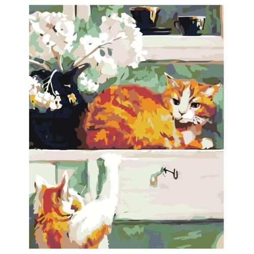 Купить Картина по номерам, 100 x 125, A82, Живопись по номерам , набор для раскрашивания, раскраска, Картины по номерам и контурам
