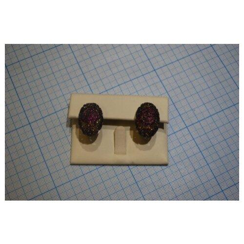 ELEMENT47 Серьги из серебра 925 пробы с фианитами PE120018D-SR-001-WG element47 серьги из серебра 925 пробы eph024 sr wg