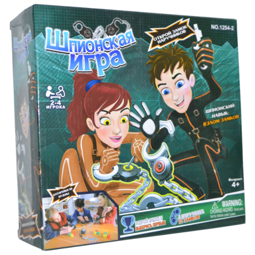 Настольная игра Junfa toys Шпионская игра junfa toys настольная магнитная игра 6 в 1 junfra