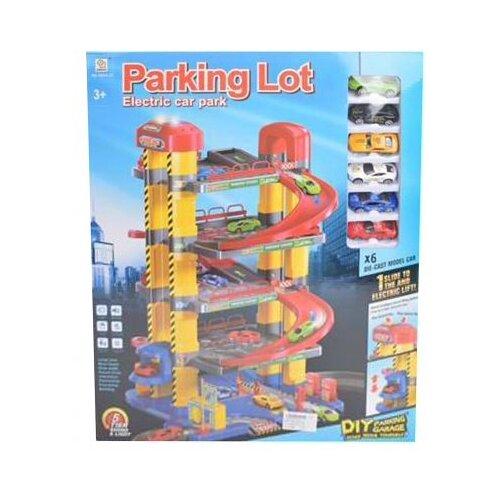 Qingdi 1801A-12 разноцветный, Детские парковки и гаражи  - купить со скидкой