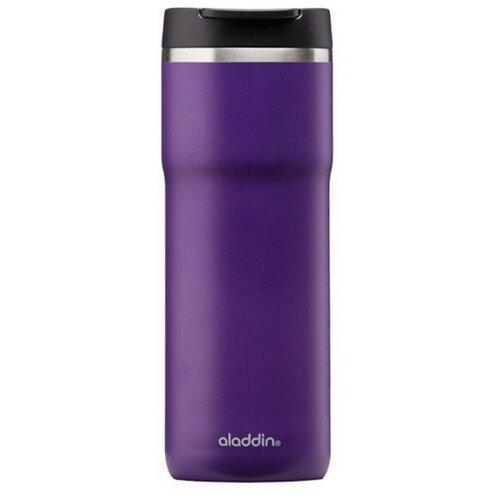 Термокружка Aladdin 0.35L из нержавеющей стали Mocca Leak-Lock фиолетовая