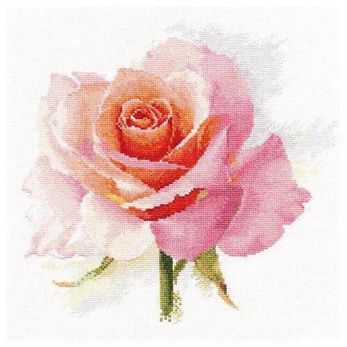 Фото - Алиса Набор для вышивания Дыхание розы. Нежность 24 x 24 см (2-40) алиса набор для вышивания тюльпаны малиновое сияние 22 x 26 см 2 43