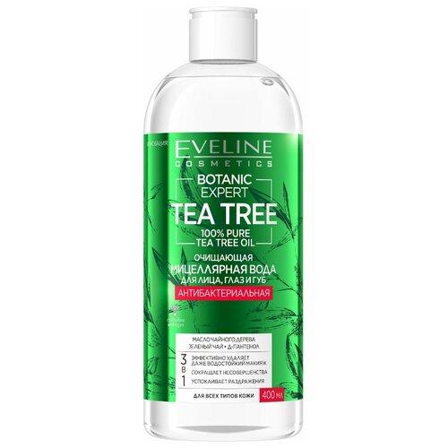Купить Мицеллярная вода Eveline Botanic Expert очищающая для лица, глаз и губ 3в1 400мл, Eveline Cosmetics