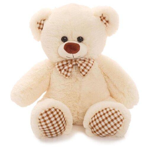 Купить Мягкая игрушка Любимая игрушка Медведь Тоффи молочный, 50 см, ЛюбиМая игрушка, Мягкие игрушки