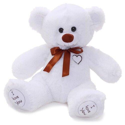 Купить Мягкая игрушка Любимая игрушка Медведь Арчи белый, 50 см, ЛюбиМая игрушка, Мягкие игрушки