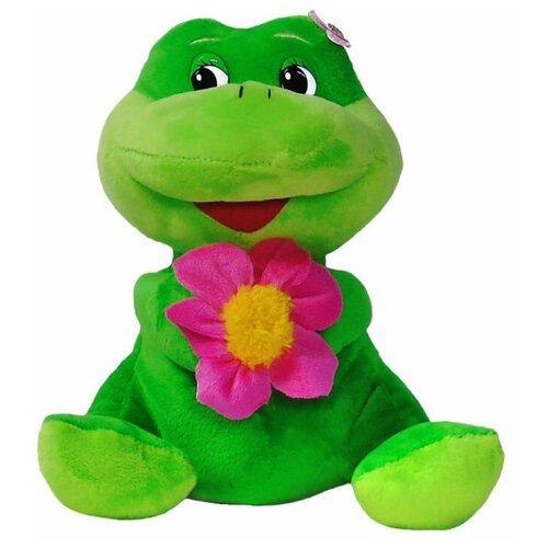 Мягкая игрушка Лягушка с цветком