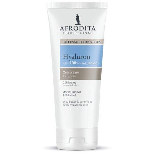 Крем для лица увлажняющий для сухой кожи Hyaluron, Afrodita Cosmetics, Словения, 150мл