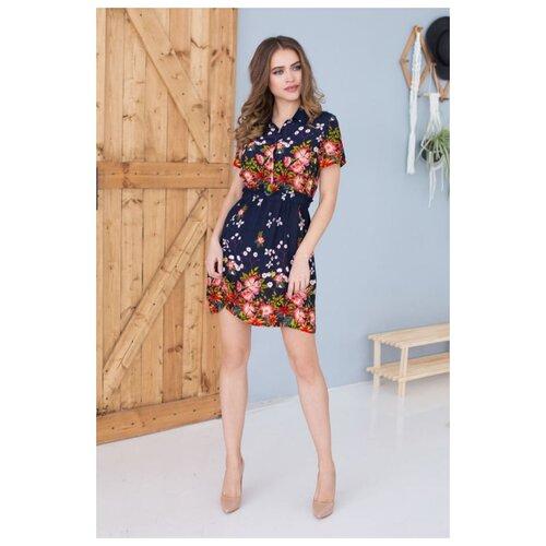 Фото - Платье Mia-Mia размер XL(50) темно-синий платье oodji collection цвет карамель 24001104 5b 47420 4b00n размер xl 50
