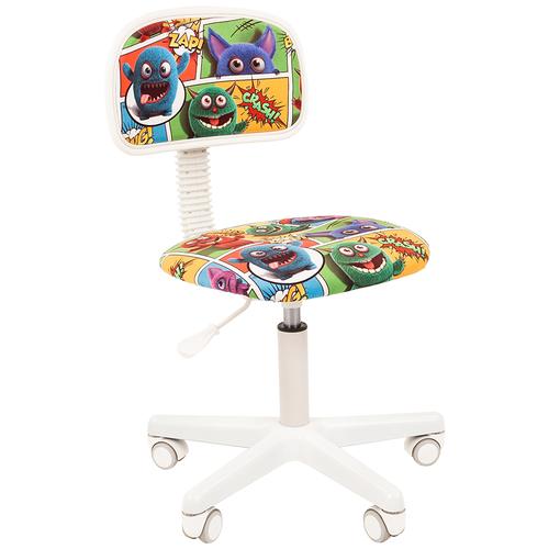Фото - Компьютерное кресло Chairman Kids 101 детское, обивка: текстиль, цвет: монстры компьютерное кресло chairman kids 101 детское обивка текстиль цвет монстры