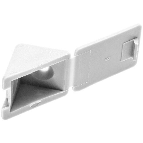 Уголок ЗУБР 4-308256, 4 шт., белый