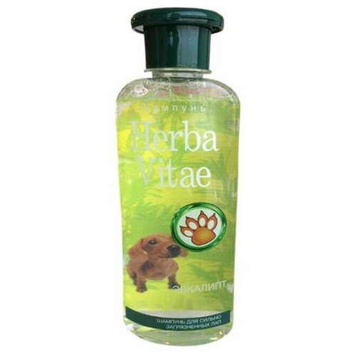 Фото - Шампунь Herba Vitae для сильно загрязненных лап, 250 мл шампунь herba vitae для собак и кошек в период линьки 250 мл