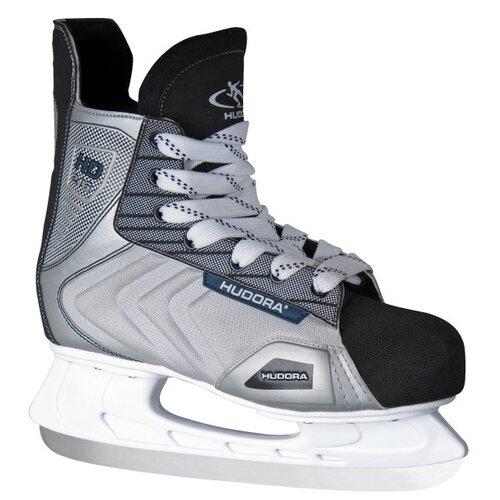 Хоккейные коньки HUDORA HD-216 серый р. 43