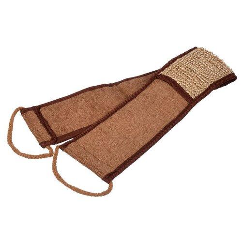 Купить Мочалка Банные штучки Мочалка из рами (40364) коричневый