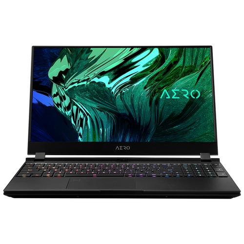 "Ноутбук GIGABYTE AERO 15 OLED (Intel 11th Gen) YD (Intel Core i7 11800H 2300 MHz/15.6""/3840x2160/16GB/1TB SSD/NVIDIA GeForce RTX 3080 MAX-Q 8GB/Windows 10 Pro) YD-73RU624SP черный"