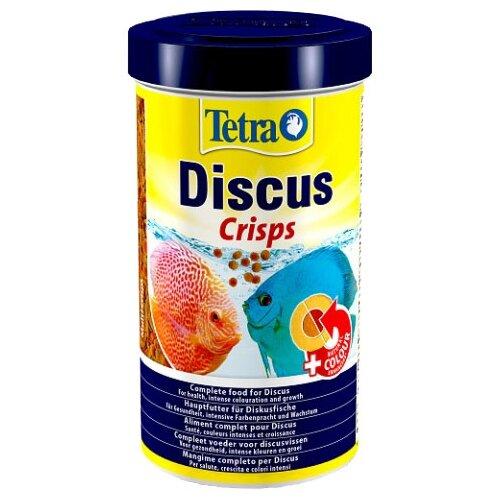 Фото - Сухой корм для рыб Tetra Discus Crisps (Discus Pro), 500 мл сухой корм для рыб tetra discus granules 100 мл