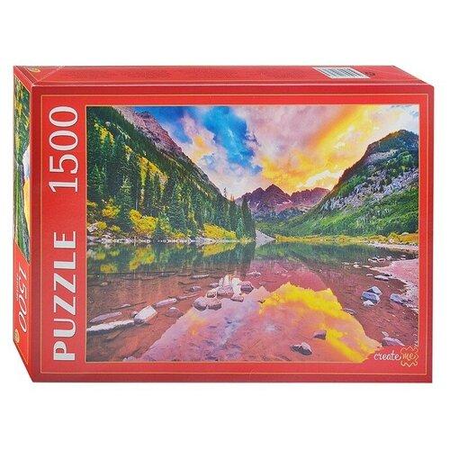Купить Пазл Рыжий кот Озеро в горах Марун Беллс (ГИП1500-0626), 1500 дет., Пазлы