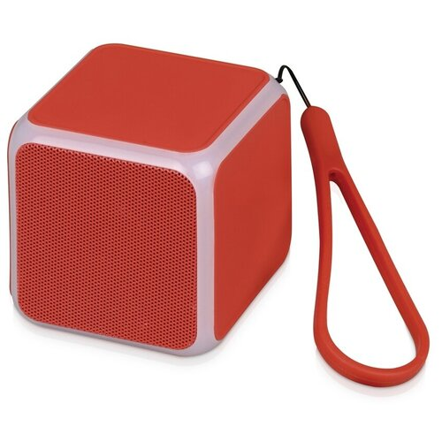 Портативная акустика Oasis CUBE, красный портативная акустика oasis ring красный