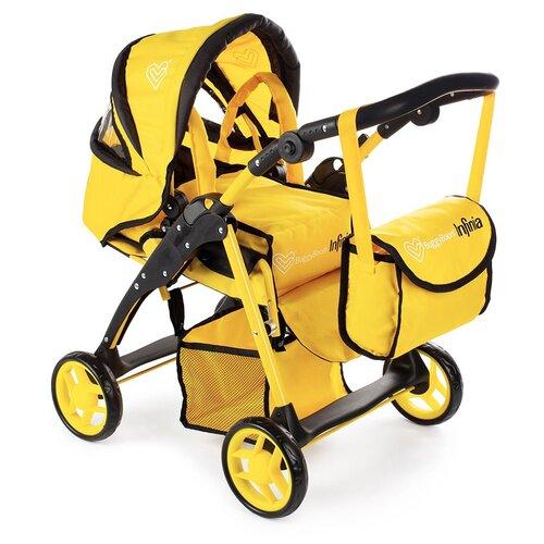 Купить Коляска-трансформер Buggy Boom Infinia (8452) желтый, Коляски для кукол
