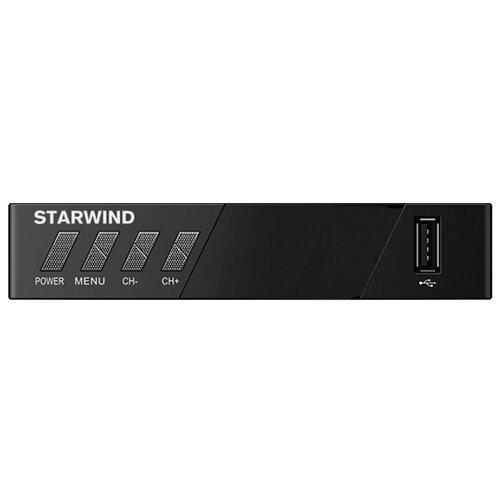 TV-тюнер STARWIND CT-140 черный tv тюнер starwind ct 200 черный