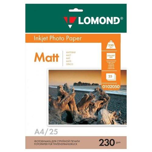 Фото - Бумага Lomond A4 Photo Paper 0102050 230 г/м² 25 лист., белый бумага lomond a4 premium photo paper 1104101 280 г м² 20 лист белый
