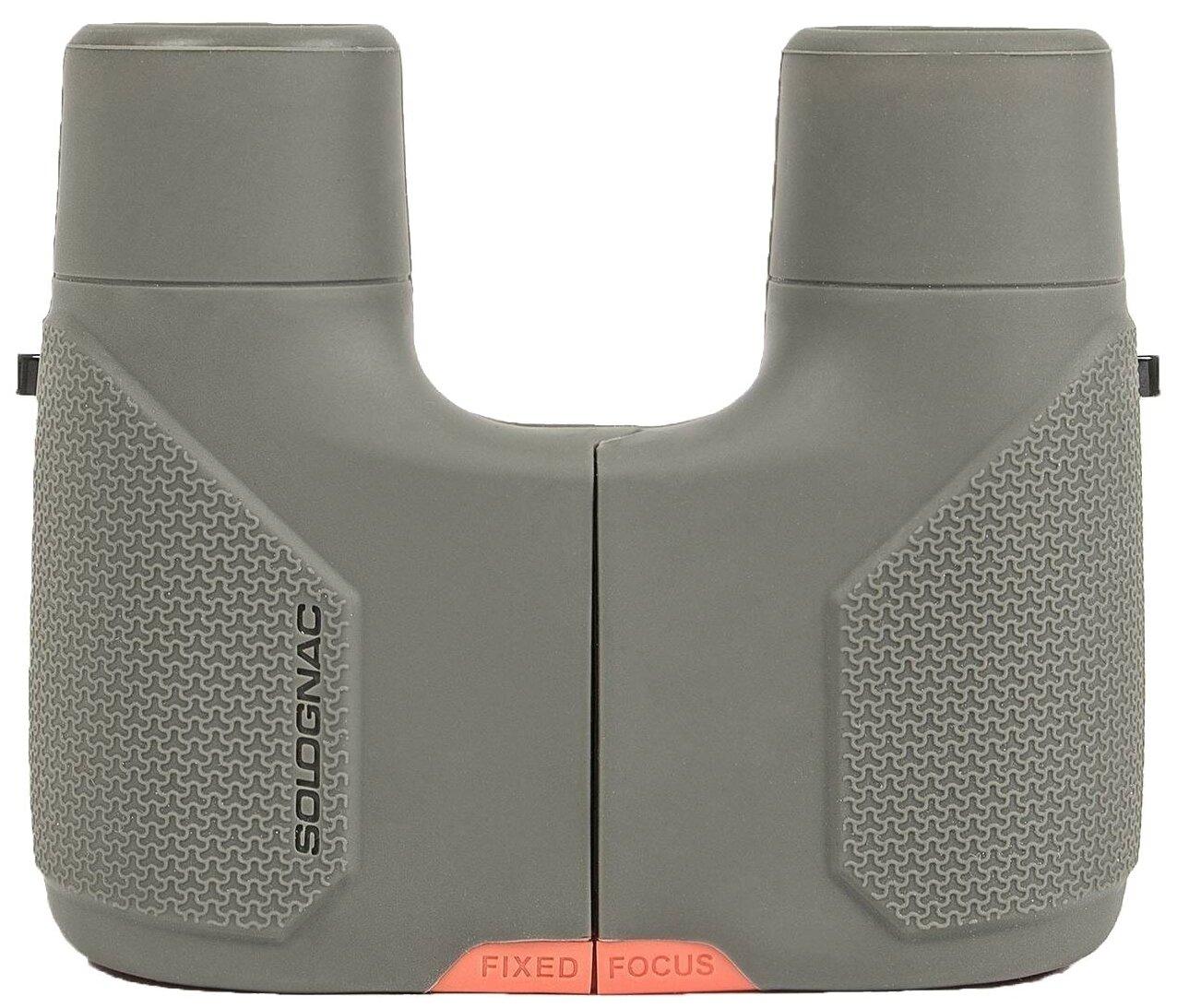 Купить Бинокль SOLOGNAC Binocular 8x25 зеленый по низкой цене с доставкой из Яндекс.Маркета