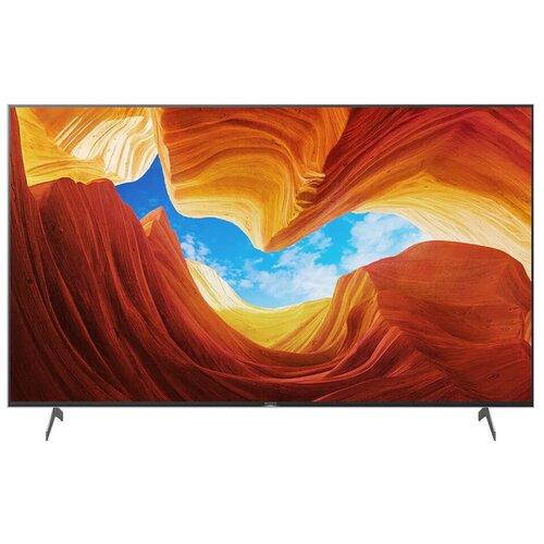 Фото - Телевизор Sony KD-75XH9096 74.5 (2020), черный телевизор sony kd 55xh8005 54 6 2020 черный