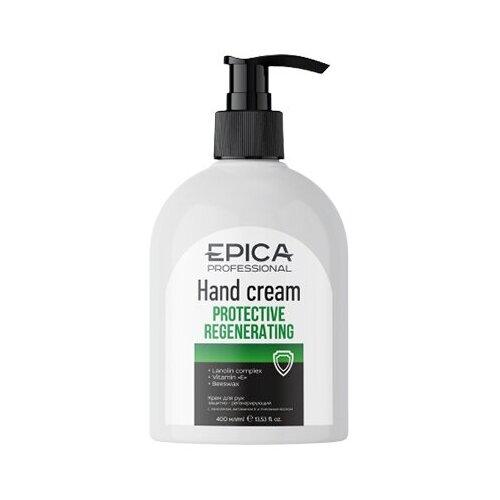 EPICA Protective Regenerating Крем для рук защитно-регенирирующий с комплексом ланолина, витамина Е и пчелиным воском, 400 мл.