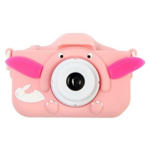 """Фотоаппарат Сима-ленд Cartoon Digital Camera Dandy """"Слоник"""" розовый"""