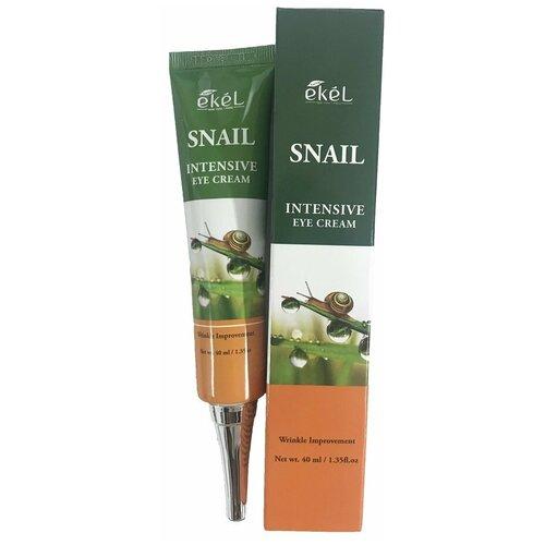 Фото - Ekel Крем для кожи вокруг глаз Snail Intensive Eye Cream, 40 мл asiakiss крем для кожи вокруг глаз snail eye cream 40 мл