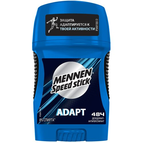 Фото - Дезодорант-антиперспирант Mennen Speed Stick Adapt, 50 г дезодорант антиперспирант mennen speed stick cool freedom 140 мл