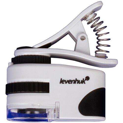 Фото - Микроскоп LEVENHUK Zeno Cash ZC8 белый микроскоп карманный для проверки денег levenhuk zeno cash zc10