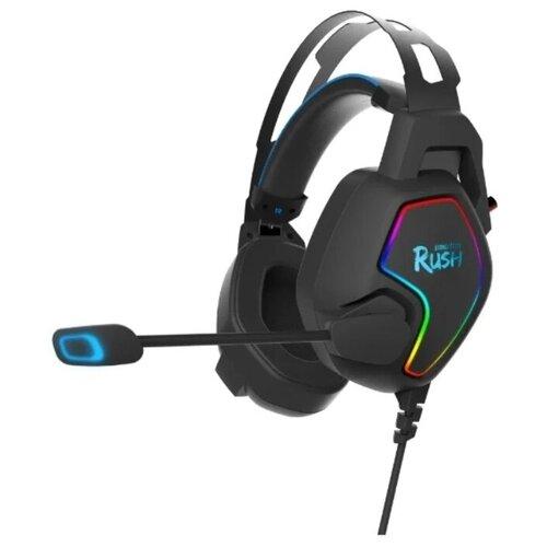 Компьютерная гарнитура SmartBuy Rush Ambition черный/синий