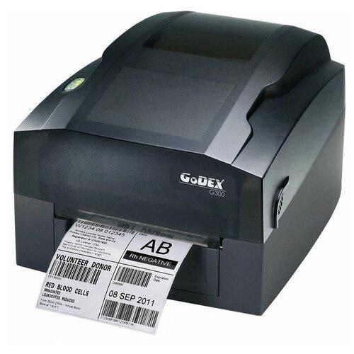 Термотрансферный принтер этикеток Godex GE530 UES (4 ips, втулка 1