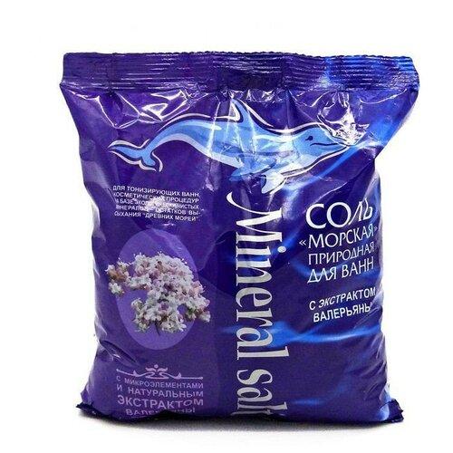 ГринПром соль с экстрактом валерианы, 1 кг