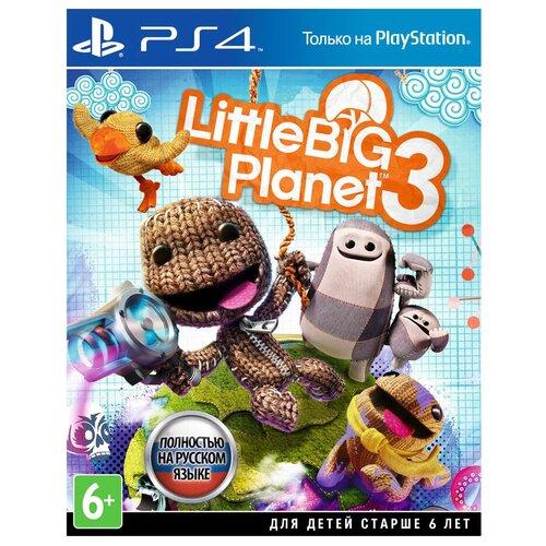 Игра для PlayStation 4 LittleBigPlanet 3 полностью на русском языке