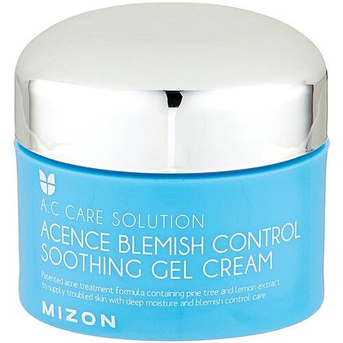 Фото - Mizon Крем для проблемной кожи Acence Blemish Control Soothing Gel Cream, 50 мл levissime крем кожи armony cream балансирующий для проблемной 50 мл