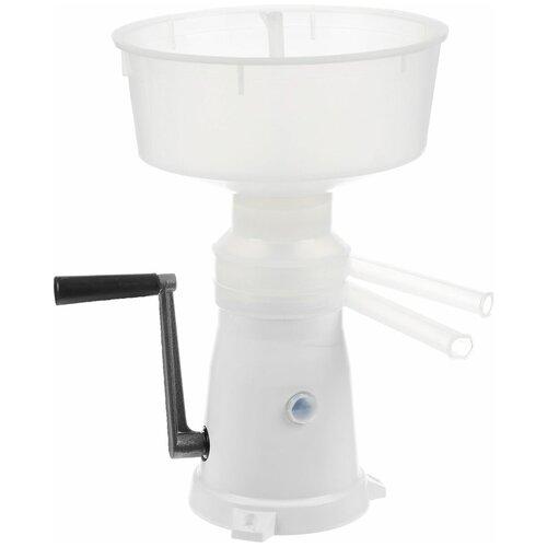 Фото - Сепаратор для молока Пензмаш РЗ-ОПС (50л) пластик белый сепаратор маслобойка ручной салют рз опс м 150