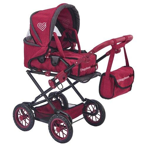 Фото - Коляска-трансформер Buggy Boom Infinia (8459) красный коляски для кукол buggy boom инфиниа 8459 2 в 1