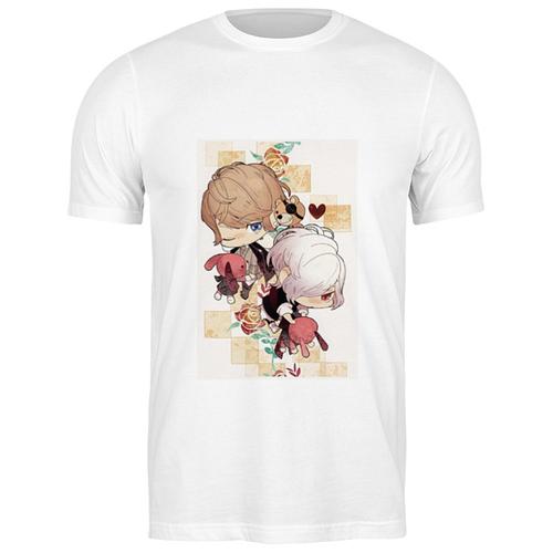 Футболка классическая Шу и Субару #2022437 (цвет: БЕЛЫЙ, пол: МУЖ, качество: ЭКОНОМ, размер: 3XL)