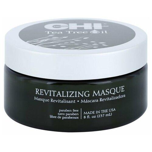 Купить CHI Tea Tree Oil Восстанавливающая маска с маслом чайного дерева для волос и кожи головы, 237 мл