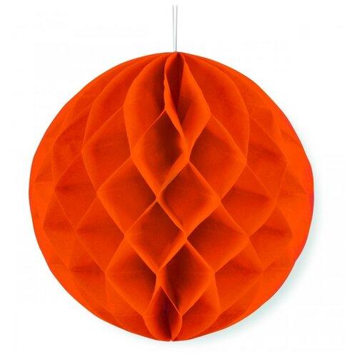 Веселый хоровод Бумажный шар оранжевый