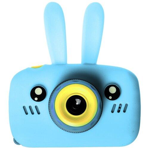 Фото - Фотоаппарат GSMIN Fun Camera Rabbit со встроенной памятью и играми голубой тапочки с памятью размер 40 41 комфорт
