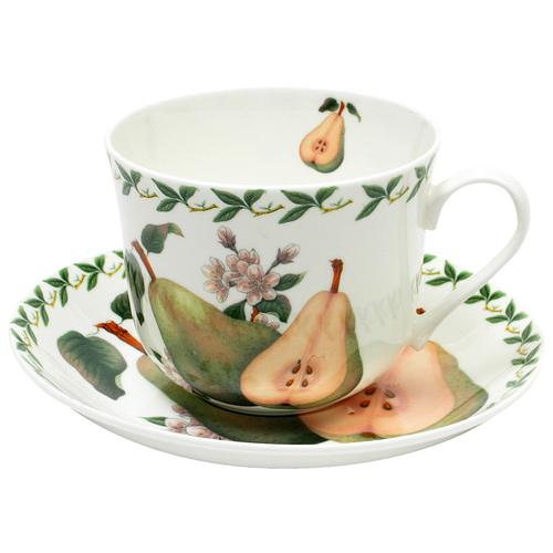 Фото - Чайная пара MAXWELL & WILLIAMS Груша, 480 мл, 2 предм., белый/зеленый пара чайная priority дыхание прованса вишня 480 мл