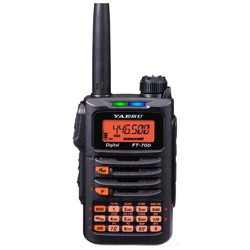 Портативная цифро-аналоговая радиостанция YAESU FT-70DR/SBR-24 1800 мАч / SAD-11/25