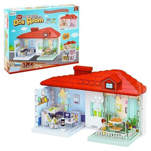 Купить Конструктор Oubaoloon Doll Room EB6789CD, Конструкторы