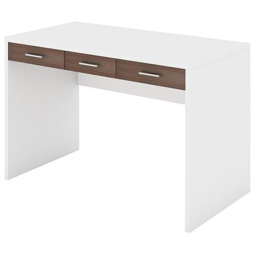 Фото - Компьютерный стол Мэрдэс Домино СП-32С, ШхГ: 120х68 см, цвет: белый/шамони компьютерный стол мэрдэс домино сп 32с шхг 120х68 см цвет карамель венге
