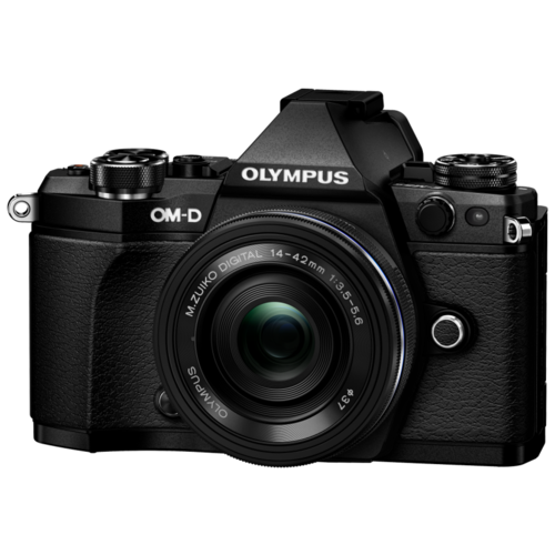 Фотоаппарат Olympus OM-D E-M5 Mark II Kit черный M.Zuiko Digital ED 14‑42mm F3.5‑5.6 EZ Pancake