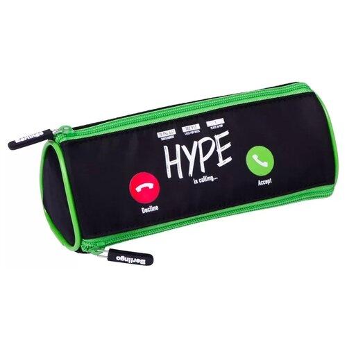 Купить Berlingo Пенал Calling (PM07134) черный/зеленый, Пеналы